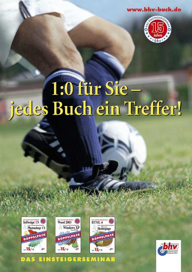 fertiges Plakat passend zur Fußball WM 2006